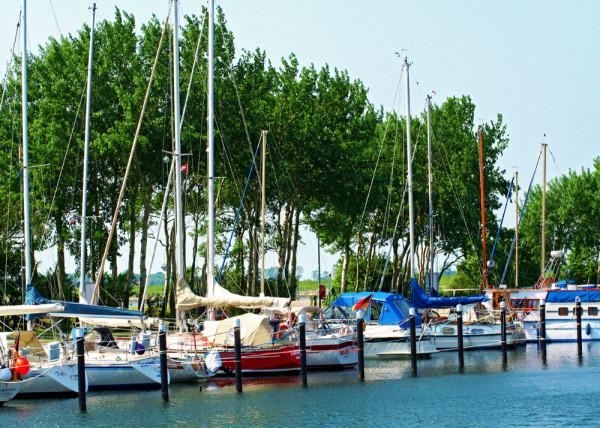 Hafen 4 Fototapete