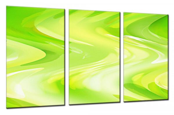 Green Lounge - Mehrteiliges Leinwandbild