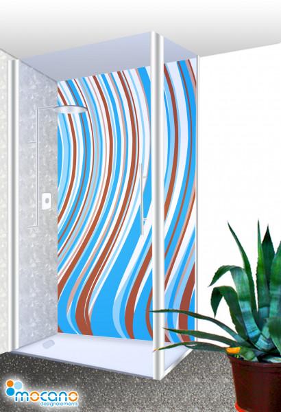 Duschrückwand - Blue Line Wohnbeispiel