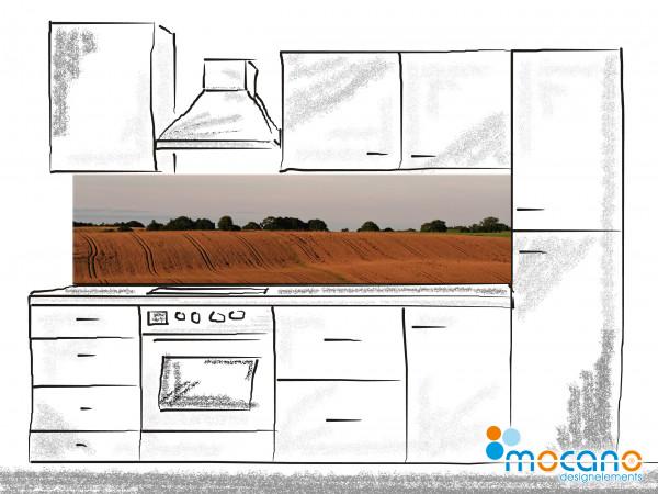 Küchenrückwand Dresming Landscape 2 - 200x50cm - Wohnbeispiel