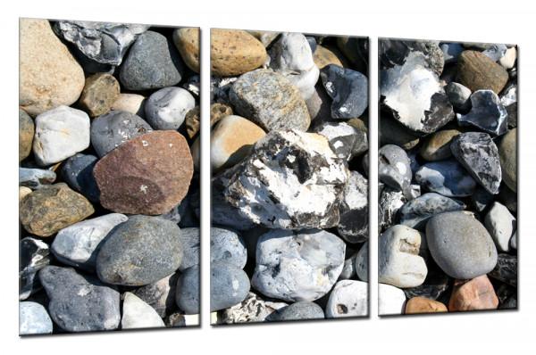 Stones 10 - Mehrteiliges Leinwandbild
