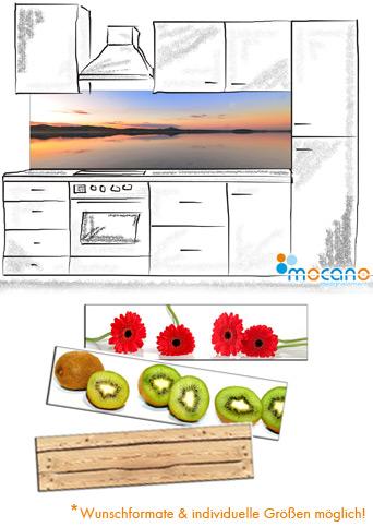 Spritzschutz Küche Beispiel