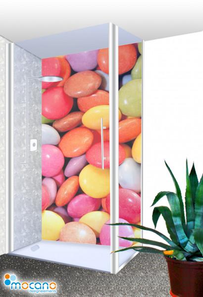 Duschrückwand - Color Bonbon - Wohnbeispiel