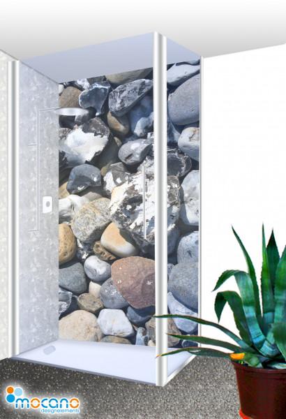 Duschrückwand - Stones 10 Wohnbeispiel