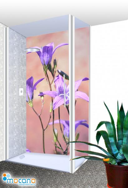 Duschrückwand - Blumenzauber 153 Wohnbeispiel