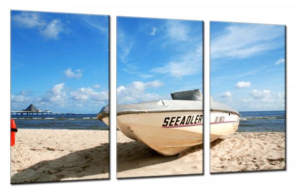 Boat Trip 4 - Mehrteiliges Leinwandbild
