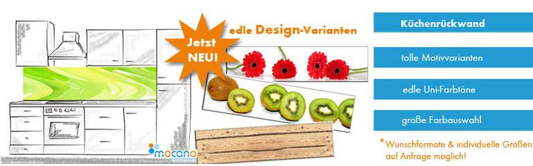 Küchenrückwand Alu DiBond | MOCANO ® Designelemente