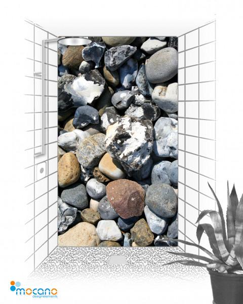 Duschrückwand - Stones 10 - Wohnbeispiel
