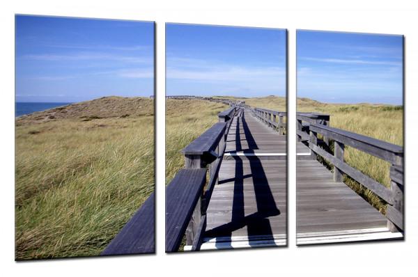 Sea View 7 - Mehrteiliges Leinwandbild