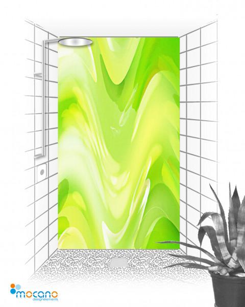 Duschrückwand Green Lounge 120x210cm Duschrückwand