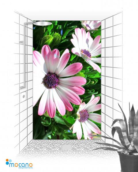 Duschrückwand Flower 29 - Wohnbeispiel