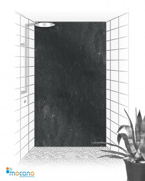 Schiefer - 120x210cm Duschrückwand - Wohnbeispiel