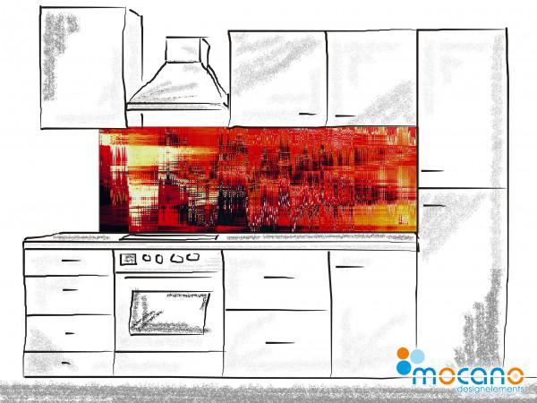 Küchenrückwand Balance 180x60cm - Wohnbeispiel