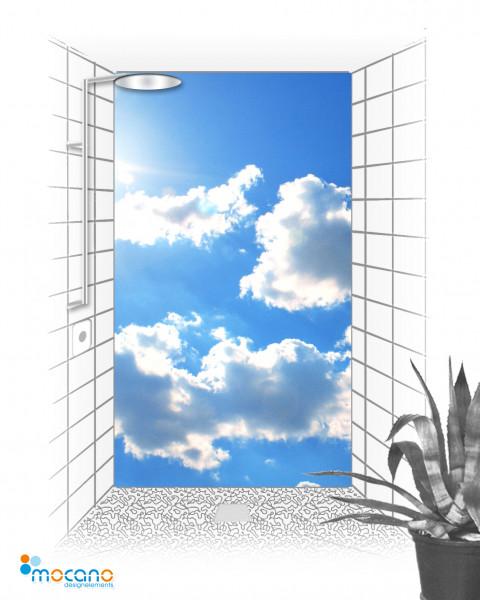 Duschrückwand Panorama Sky - Wohnbeispiel