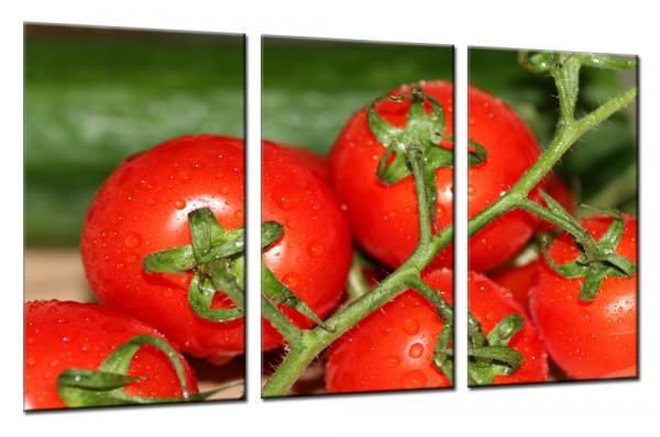 Tomaten 8 - Mehrteiliges Leinwandbild