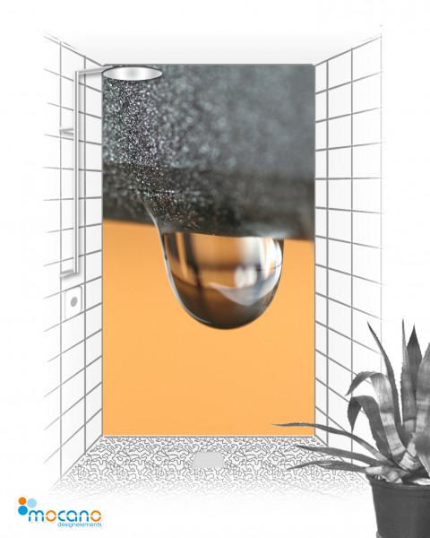 Duschrückwand - Water Colour - Wohnbeispiel