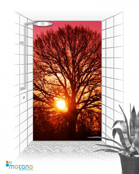 Duschrückwand - Tree of Life 2 - Wohnbeispiel