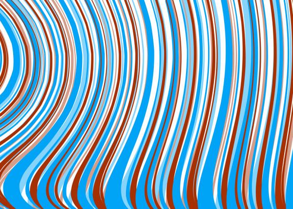 Blue Line Fototapete