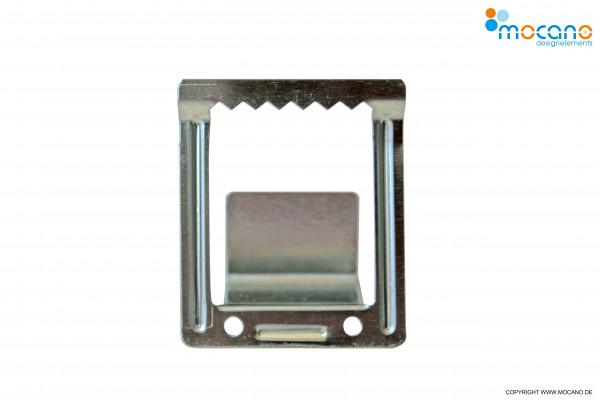 Zackenaufhänger für Leinwandbilder - Detailbild