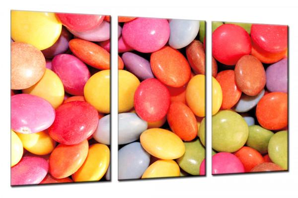 Color Bonbon - Mehrteiliges Leinwandbild