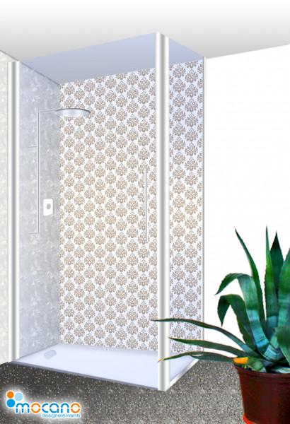Duschrückwand - Luxury Design - Wohnbeispiel
