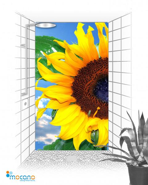 Duschrückwand Sunflower 7 - Duschrückwand Sonnenblume
