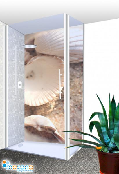 Duschrückwand Shells 2 Wohnbeispiel