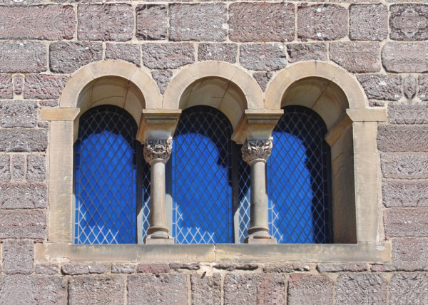 Historische Fenster Fototapete