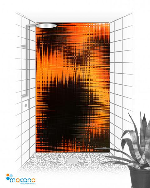 Duschrückwand Hot Impression 120x210cm - Wohnbeispiel