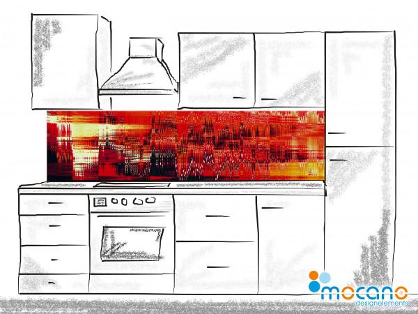 Küchenrückwand Balance 200x50cm - Wohnbeispiel